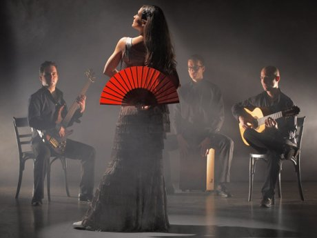 Nick Perrin Flamenco Jazz Quartett, 26.02.2011, Katholische Kirche Zweisimmen