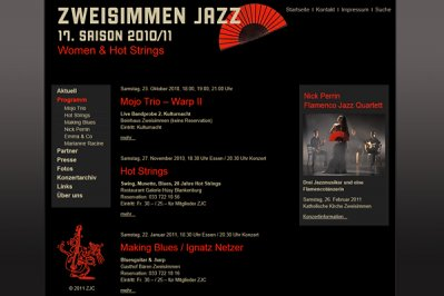 Konzertsaison 2010 / 2011
