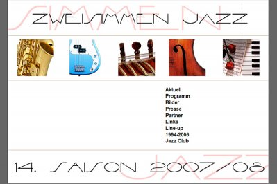 Konzertsaison 2007 / 2008