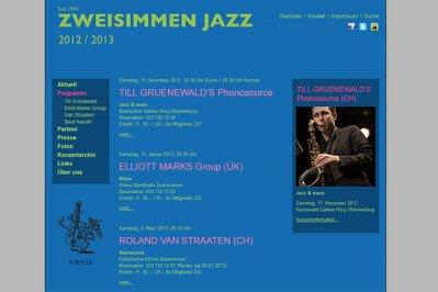 Konzertsaison 2012 / 2013